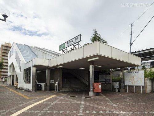 常磐線荒川沖駅まで2200m