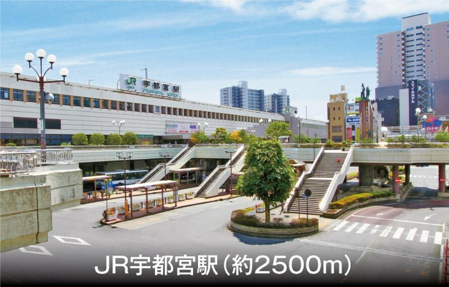 (車で8分)。新幹線も利用できる、北関東最大のターミナル駅です。