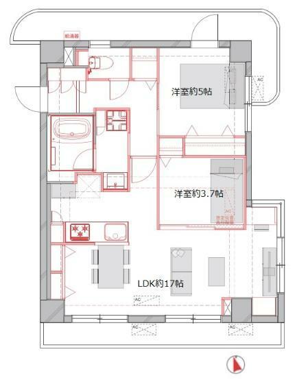 間取り図 フルリノベーション物件 住宅ローン控除適用 耐震基準適合証明書取得可能物件