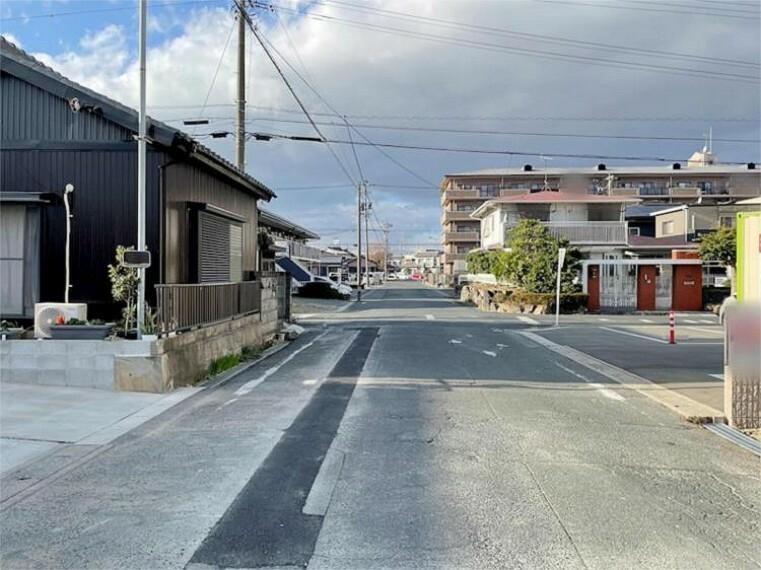 現況写真 前面道路:南西幅員約7.50m 公道
