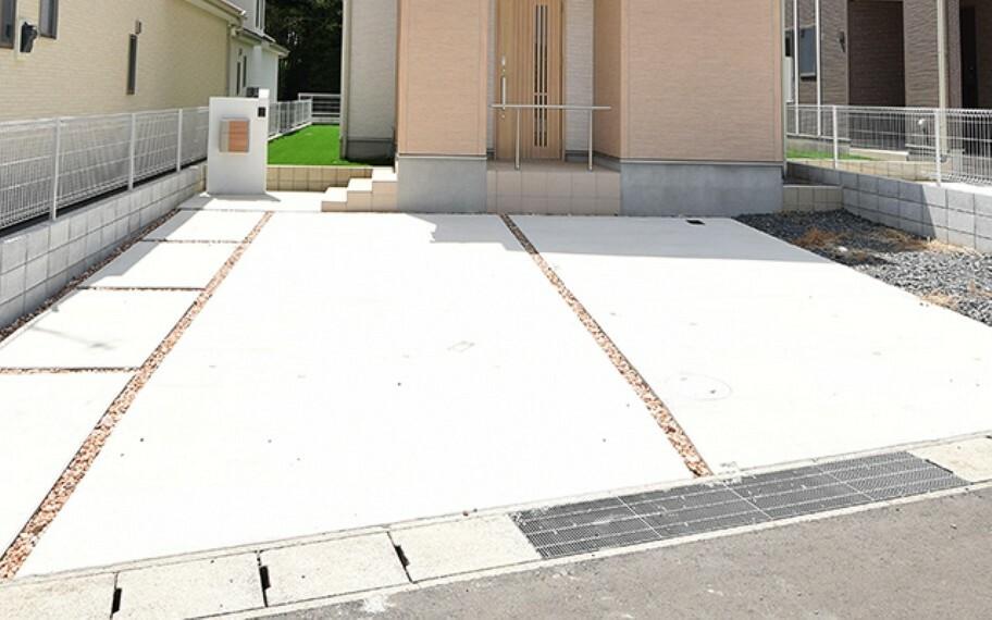 当社分譲施工例:駐車場