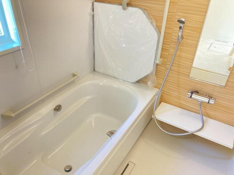 浴室 A区画浴室(2021年2月撮影)お子様から大人まで使いやすい工夫がたくさんされています。