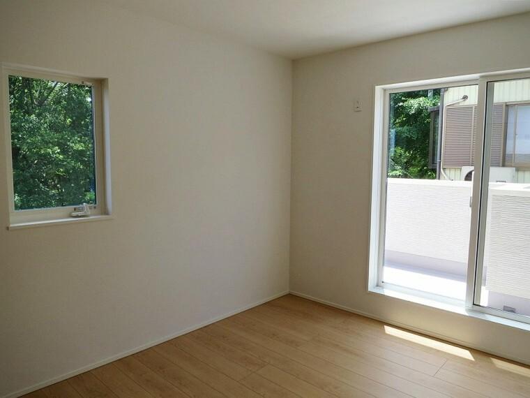子供部屋 2階の洋室は全て南向き!
