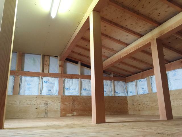 収納 同建築会社施工例 小屋裏収納