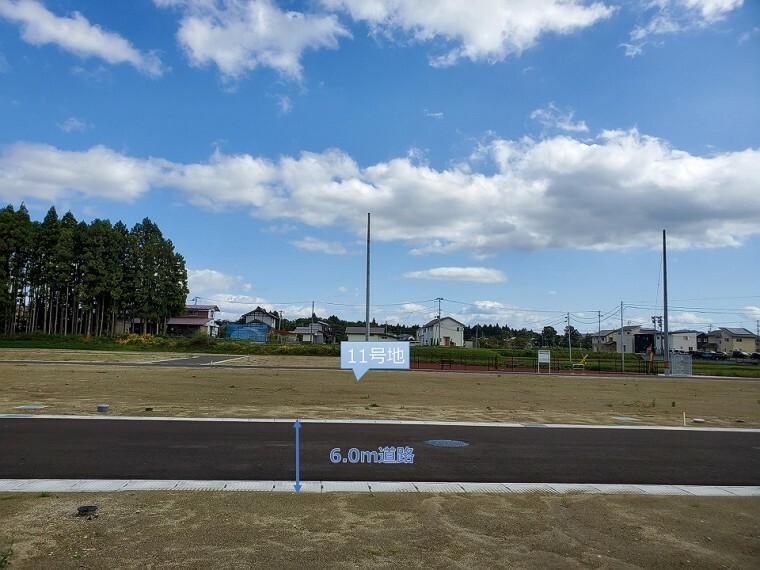 現況写真 11号地(西方向から撮影) ※2020年10月撮影