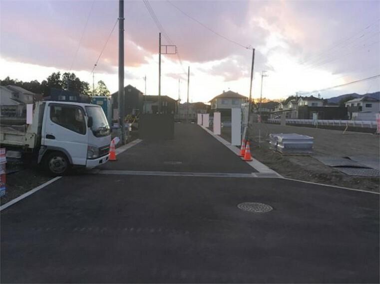 現況写真 前面道路 2021.1撮影