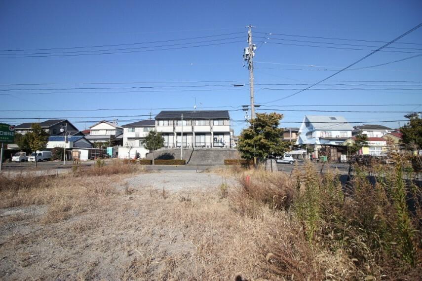 外観・現況 花園小学校まで徒歩6分(約450m) 青山中学校まで徒歩6分(約450m)