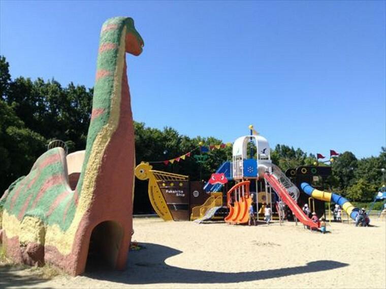 公園 【公園】深北緑地(四條畷側)まで664m