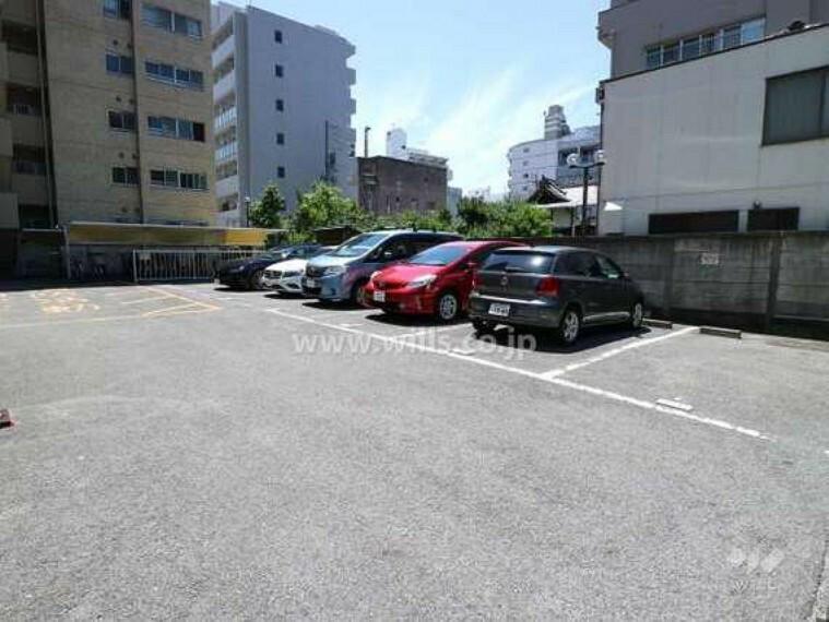 駐車場 敷地内駐車場(屋外平面式・敷地北西側)