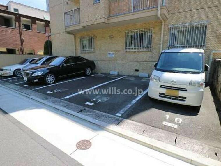 駐車場 敷地内駐車場(屋外平面式・敷地北東側)