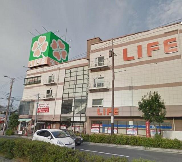 スーパー 【スーパー】ライフ巽店まで662m