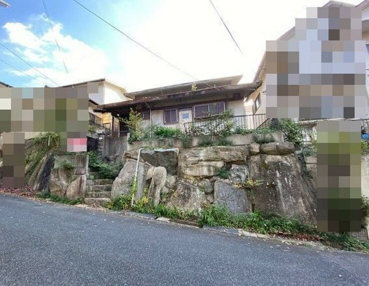 現況写真 神戸市北区広陵町3丁目 建築条件なし土地