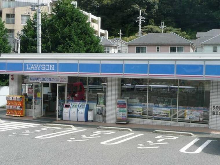 コンビニ ローソン山の街店