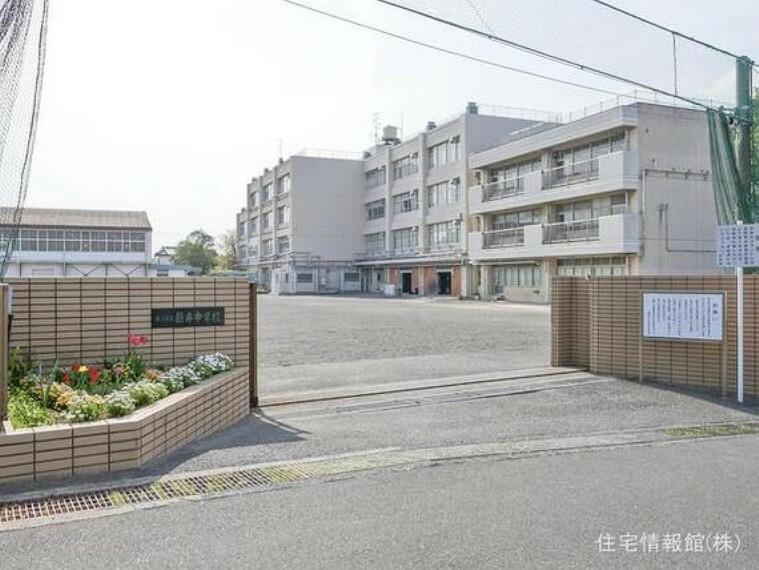 横浜市立新井中学校 距離950m
