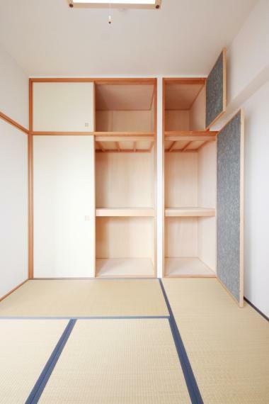 和室 和室にはお布団がしまえるスペースもあります!