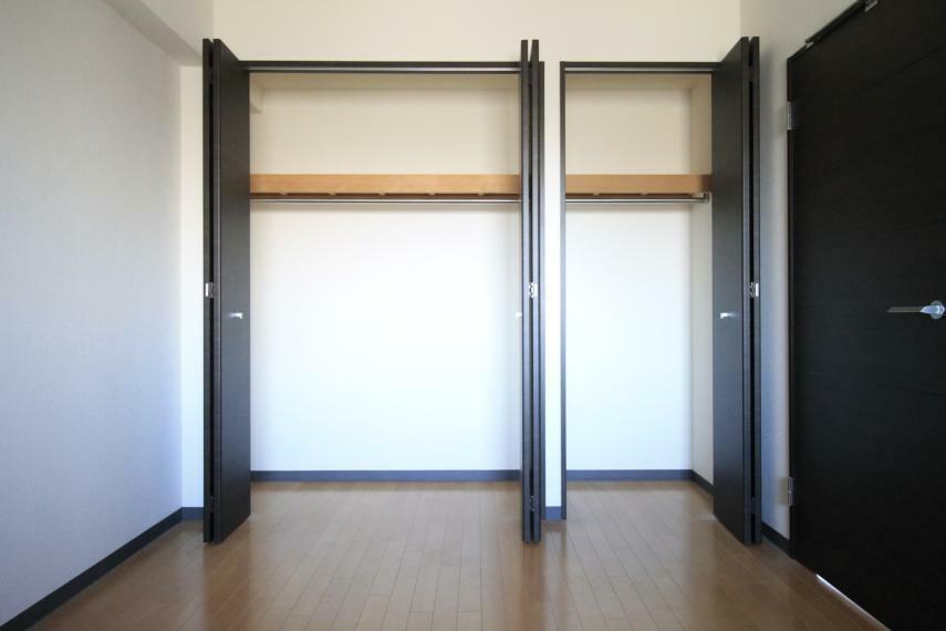 収納 洋室6.5帖 クローゼットがあり、荷物の多い方でも安心ですね!