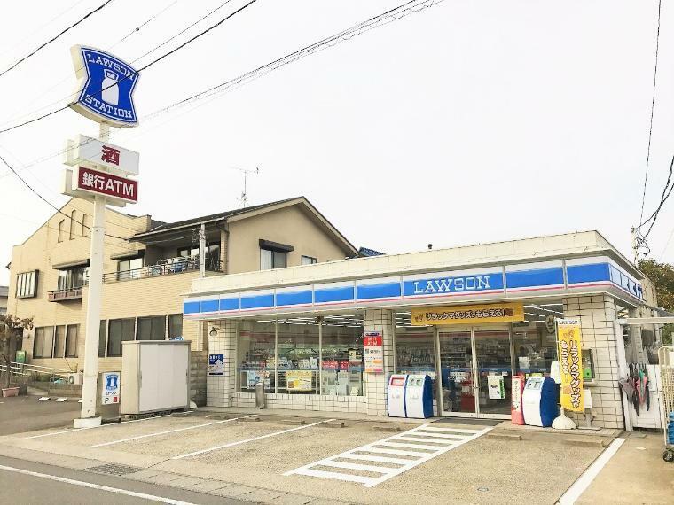 コンビニ ローソン 南相馬旭公園店