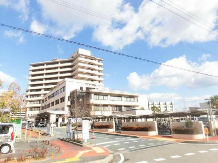 病院 徳島市民病院まで300m徒歩4分。救急病院が近くにあると安心ですね。
