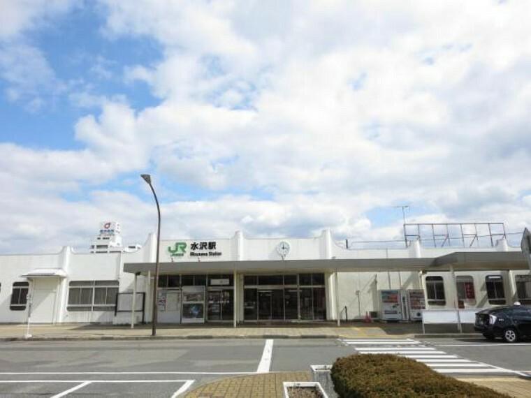 JR東北本線水沢駅まで約2100mです。車を手放しても遠出には困りませんね。
