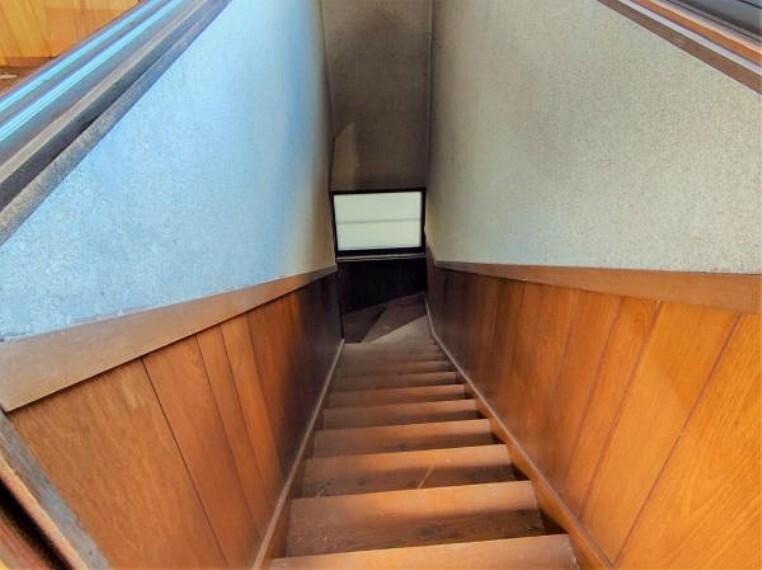 現況写真 【リフォーム中4/26撮影】2階から撮影しました。