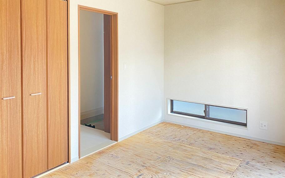 和室 現地写真:洋室畳敷き(11号棟)