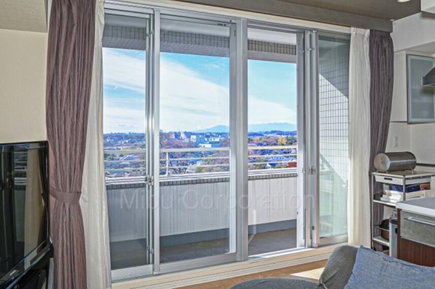 眺望 お部屋の中からでも富士山が望めます。