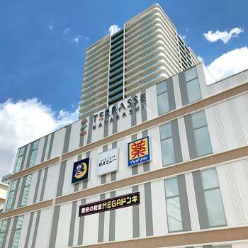 スーパー MEGAドン・キホーテUNY納屋橋店 徒歩12分。