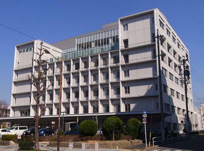 病院 中日病院 徒歩15分。