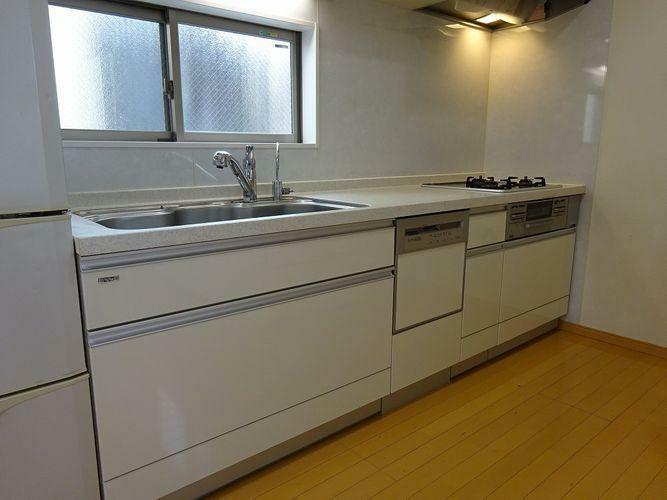 キッチン システムキッチン、食洗機あり
