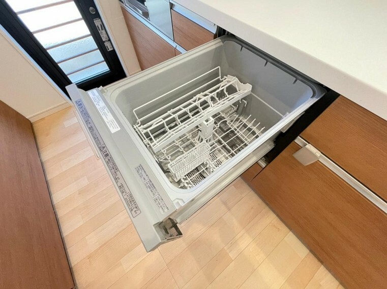 (キッチン)約5人分の食器を一気に洗浄できます〇家事の負担を減らして家族時間を増やしましょう!