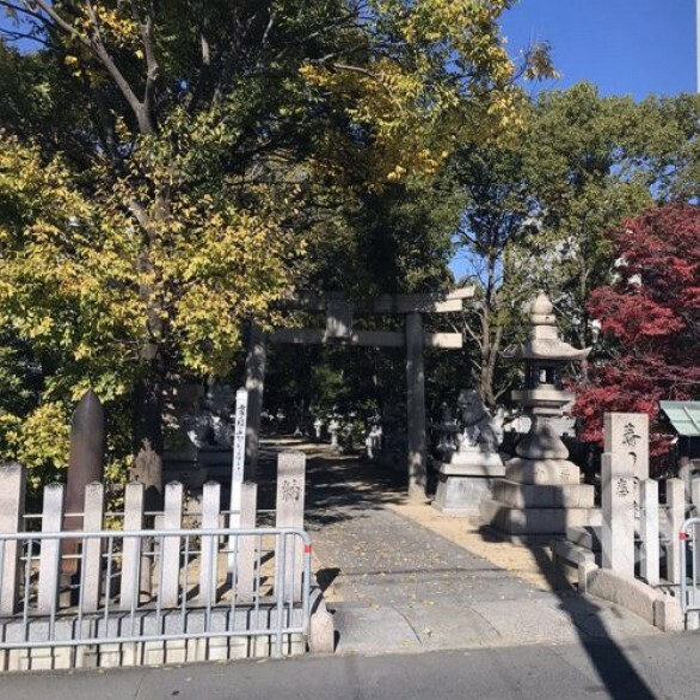 【寺院・神社】利倉春日神社まで579m