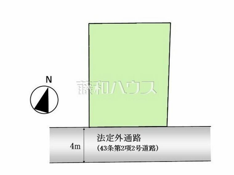 区画図 区画図 【練馬区東大泉6丁目】