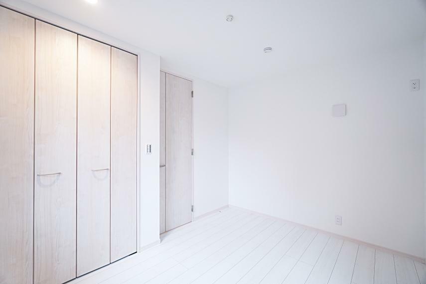 収納 各居室にクローゼットを設置。収納には困りません。