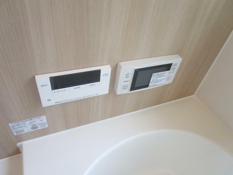 浴室TV付