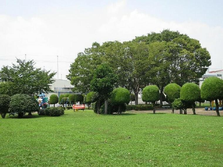 ふくとみ公園・・・野球やサッカーなども出来る、広々とした公園です。