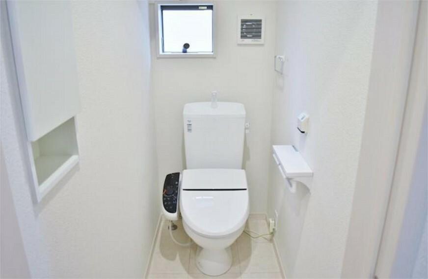 トイレ 温水洗浄機能の付いた快適なトイレ【写真は同仕様】
