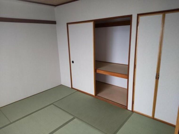 【リフォーム後押入】客間としても機能する和室には、布団や洋服などを収納できる押し入れがあると便利です。