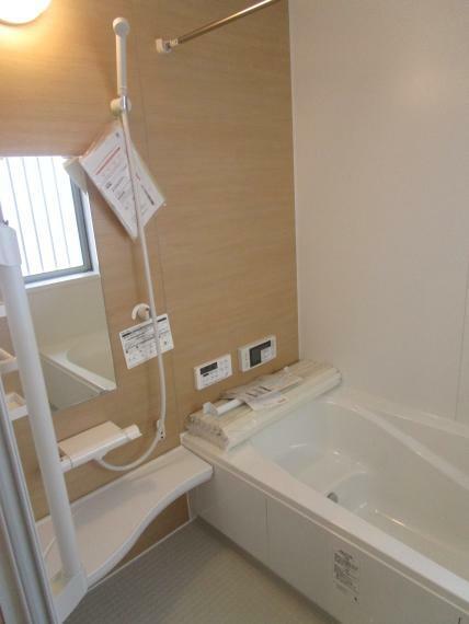 浴室 TV付き1坪バス