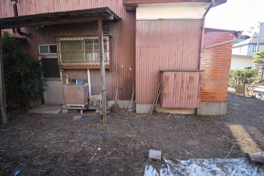現況写真 敷地内、北側中央辺りから南側に向かって撮影