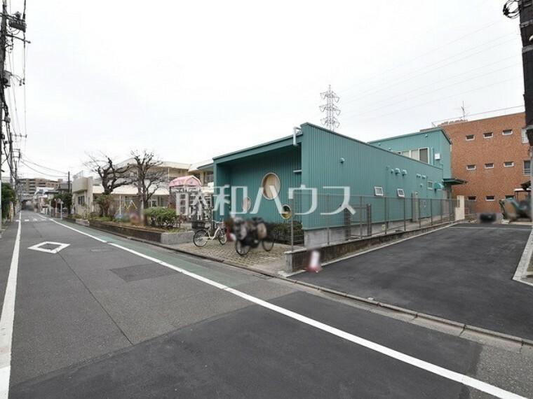 現況写真 接道状況および現場風景 【狛江市岩戸北3丁目】