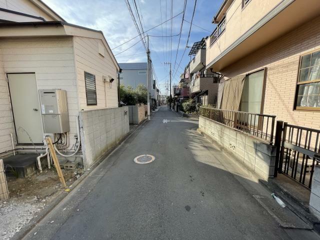 現況写真 1/7撮影 前面道路