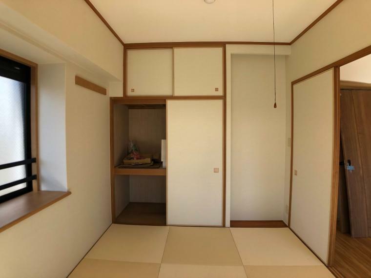 和室 琉球畳に変更