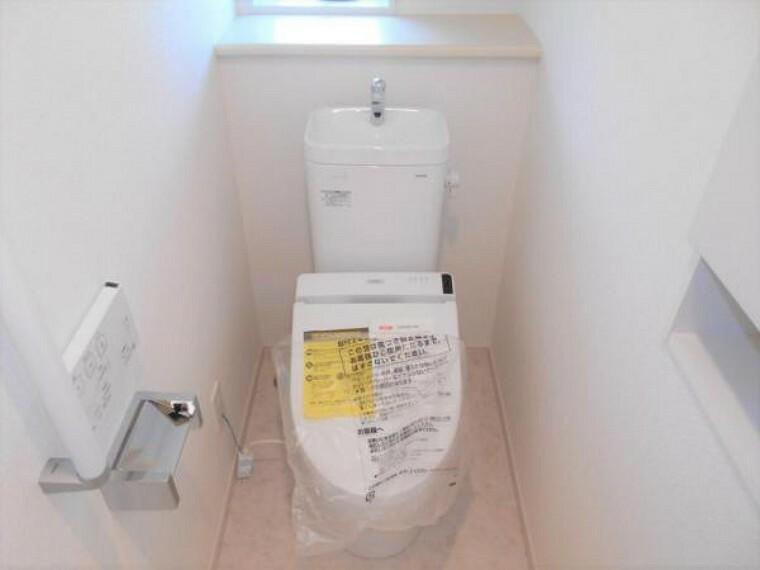 同仕様写真(内観) 【同仕様写真・トイレ】節水しながらも、パワフルな洗浄力で掃除も楽々!
