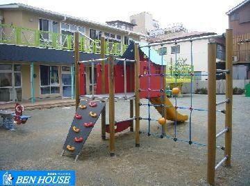 幼稚園・保育園 新町しほかぜ保育園 徒歩7分。 川崎区渡田