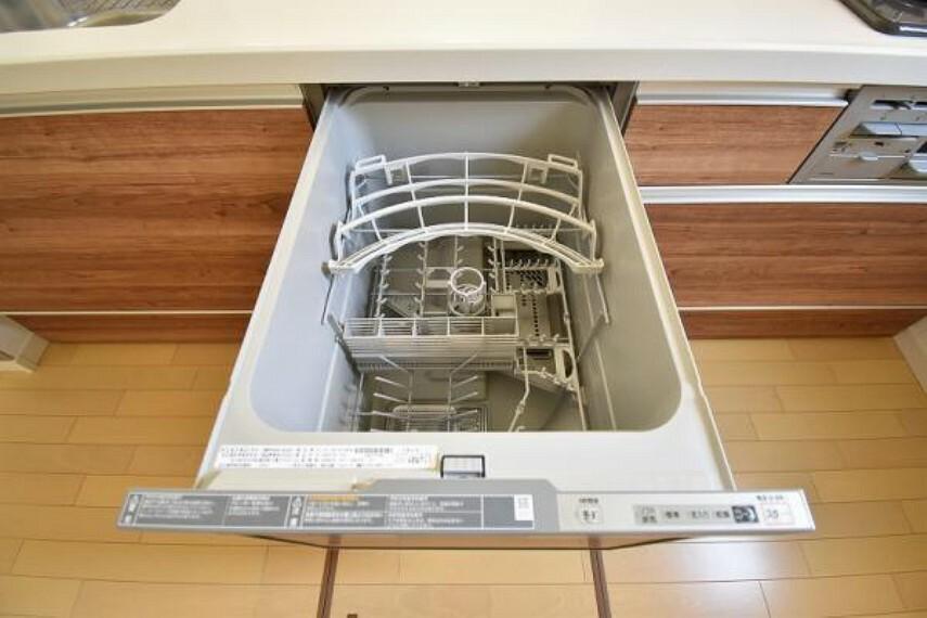 キッチン 奥様にうれしい食洗機付き!家事負担を軽減することができます