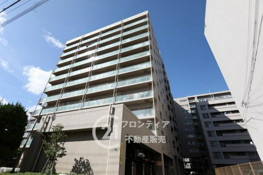 外観写真 12階最上階1フロアにつき日当り・眺望良好です!