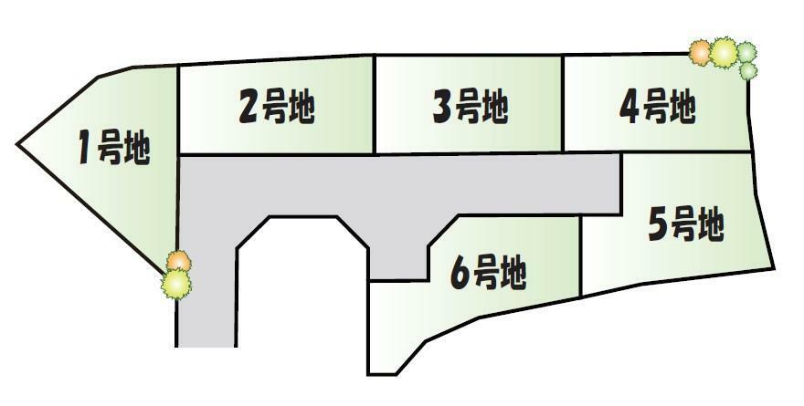 区画図 区割り図