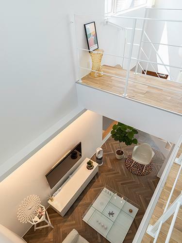 参考プラン完成予想図 【施工事例】 「人の生活をつくることが好きな人」がR+houseの建築家です。建築家たちは、その「ルール」を熟知しており、その上で極めて素晴らしいデザインをつくることができる人たちです。