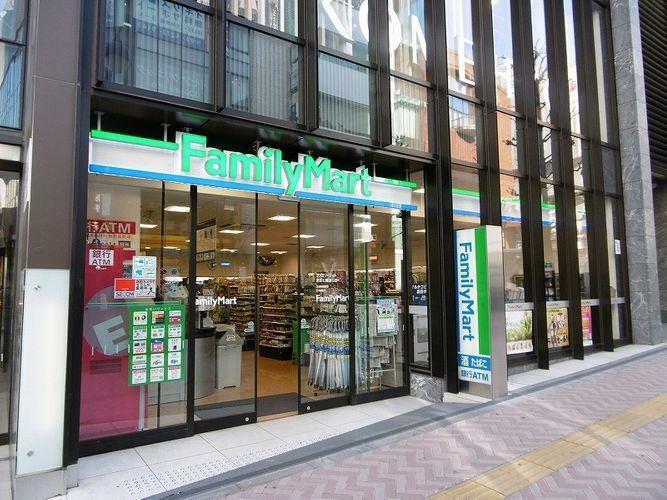 コンビニ ファミリーマート渋谷公園通り店 徒歩4分。