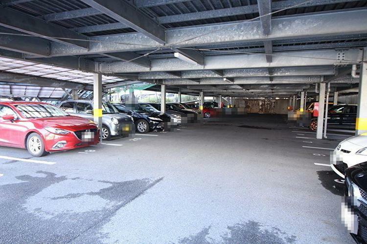 駐車場 自走式の駐車場です